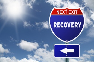Next Exit, Recovery highway sign