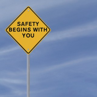 Safety Begins With You road sign